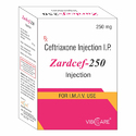 Ceftriaxone 250mg