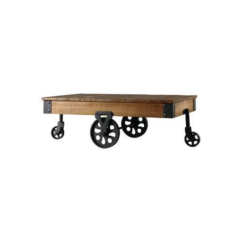 Rustic Industrial Factory Cart Cocktail Table At Rs 12999 Piece