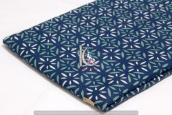 Indigo Blue Multi Colorful Hand Block Print Cotton Fabric