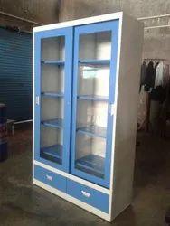 Blue School library steel furniture