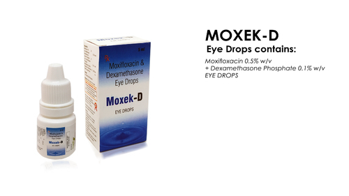 Moxifloxacin And Dexamethasone Eye Drops