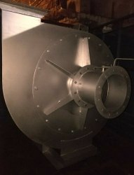 15 V-Belt Driven Units ID Fan, For Industrial