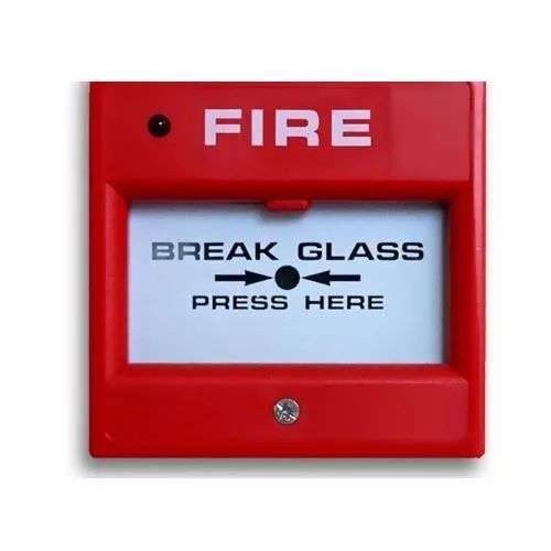 M S Body Red MCP Fire Alarm System
