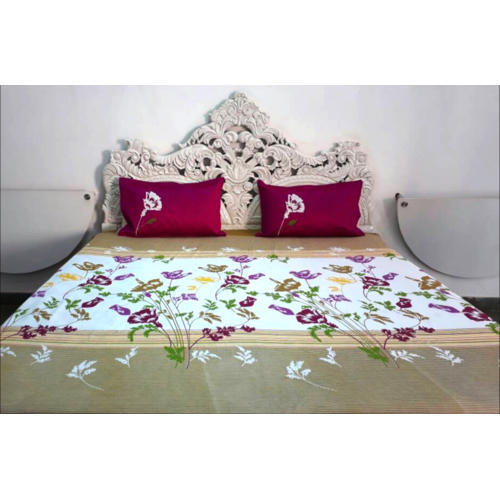 Floral Printed Fitted Bed Sheet At Rs 1350 Piece Fitted Bedsheet