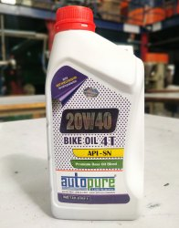 Autopure 20W40 4T Bike Engine Oil