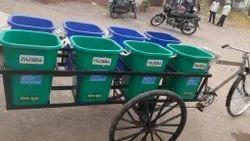 Garbage Cycle Rickshaws