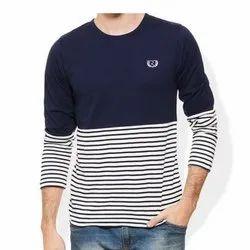 Full Sleeves Round Neck Men's Stylish T Shirt