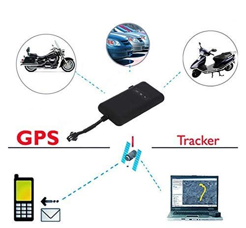 Gps Tracker Gps/gsm/sms/gprs For Car, Bike, Truck Google Link Real Time  Tracking