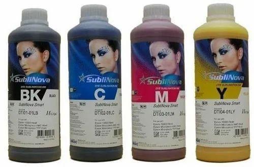 Sublinova Smart Epson Sublimation Ink, Pack Size: 1 Liter
