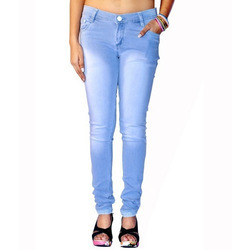 Ladies Skinny Fit Jeans, Waist Size: 30.0 And 36