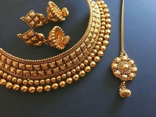 jewellery at buy with traditional for maang set gold plated amazon in necklace store tikka online low prices women i dp earrings jewels india