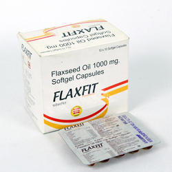 Flaxseed Oil 1000 mg Softgel Capsules