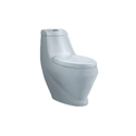 White Ceramic And Vitreous China One Piece Toilet 105