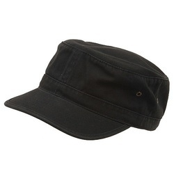 Black Security Guard Cap