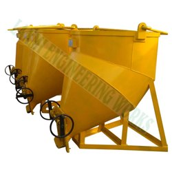 Gear Operated Banana Concrete Bucket
