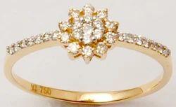Silver Ring 925 Silver Diamond