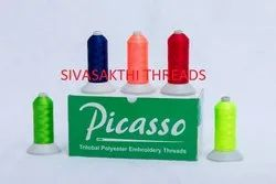 Picasso Trilobal Polyester Embroidery Threads