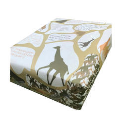 Design Powern N Giraffe Print Wrapping Paper, GSM: 80