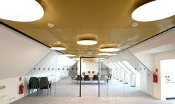 Steel / Stainless Steel Metal Grid Ceiling System, for Office