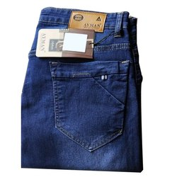 Ayman Blue Ladies Casual Denim Jeans, Waist Size: 32