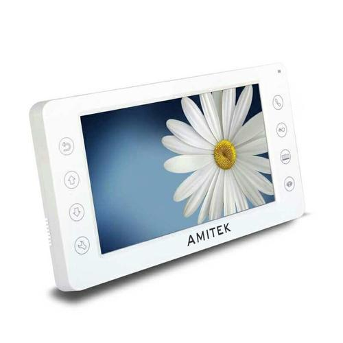 Plastic Amitek 7 Inch Video Door Phone