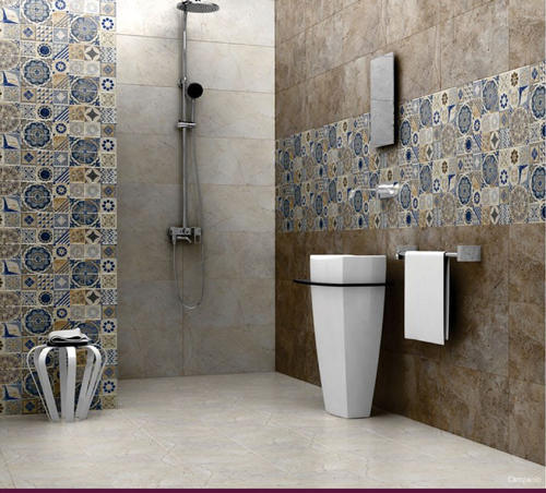 Images Of Small Bathroom Designs In India: Ceramic Tiles Digital 300x450 Bathroom Wall Tiles, Rs 115