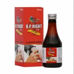 Aarogya Vatika B. P. Right Syrup (200 mL), Grade Standard: Medicine