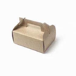 14K Medium Kraft Cake Box With Handle