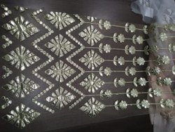 Designer Computer Cotton Embroidered Fabric