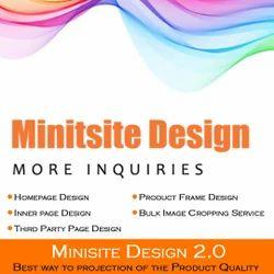 Mini Website Design Development Service/ Minisite Design