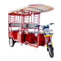 Heavy Duty Battery Operated Rickshaw