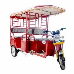 Heavy Duty Battery Operated Rickshaw