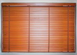 Horizontal Wooden Window Blind