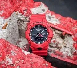 G Shock Red Watch