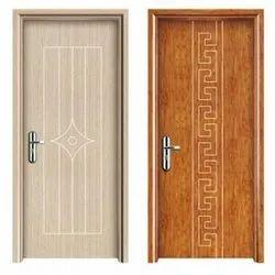 Hinged Decorative Interior PVC Door, For Bathroom