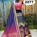 Girls Fancy Banarasi Lehenga Choli