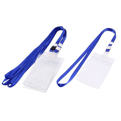 Length- 85 Mm Blue, White Normal ID Card Tag, Packaging Type: Packet