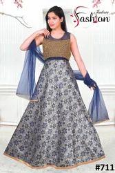 Semi Western  Gown