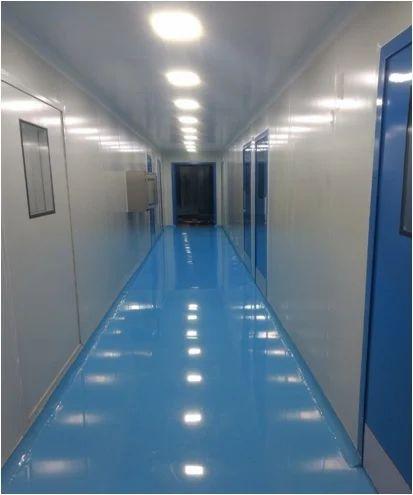Modular Hard Wall Clean Room