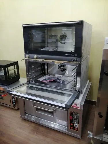 UNOX,ITALY 3.2 Kw Unox Convection Oven XF-043, Capacity: 4 Trays Of 600x400 Mm