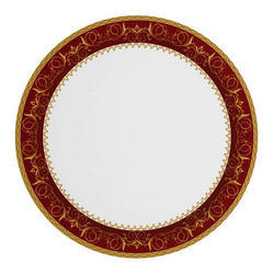 Red Minar Sonata Melamine Plate