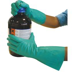 Chemical Resistance Rubber Hand Gloves