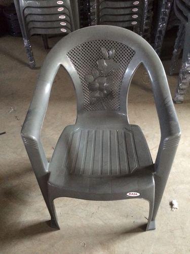 Recycled Polypropylene Plastic Chairs, Weight: 2.25 kg