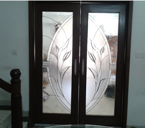 Phenomenal Stained Glass Door Home Interior And Landscaping Pimpapssignezvosmurscom