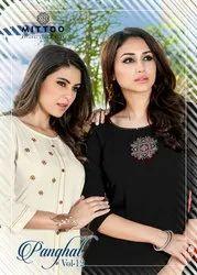 Mittoo Panghat Vol.2 Rayon Print Designer Dailywear Kurti Collection For Women