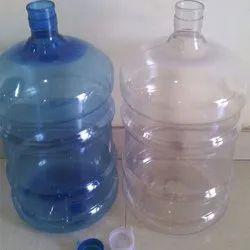 Sitaram Blue,Transparent Plastic Water Jar, Capacity: 18-20 L