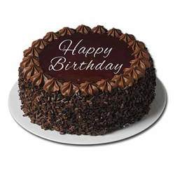 Eggless Happy Birthday Truffle Cake 1 Kg