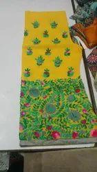 Georgette Designer Sharara, Size: Free Size