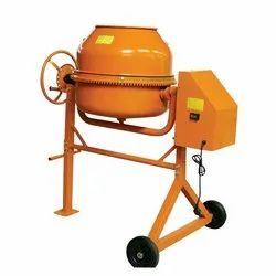 Tilting Drum Mixer Diesel Engine Cement Concrete Mixer, Drum Capacity: 500 L