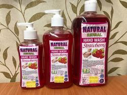 Natural Herbal Hand Wash